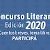 CONCURSO LITERARIO - Edición 2020, cuentos breves, tema libre. Participá!