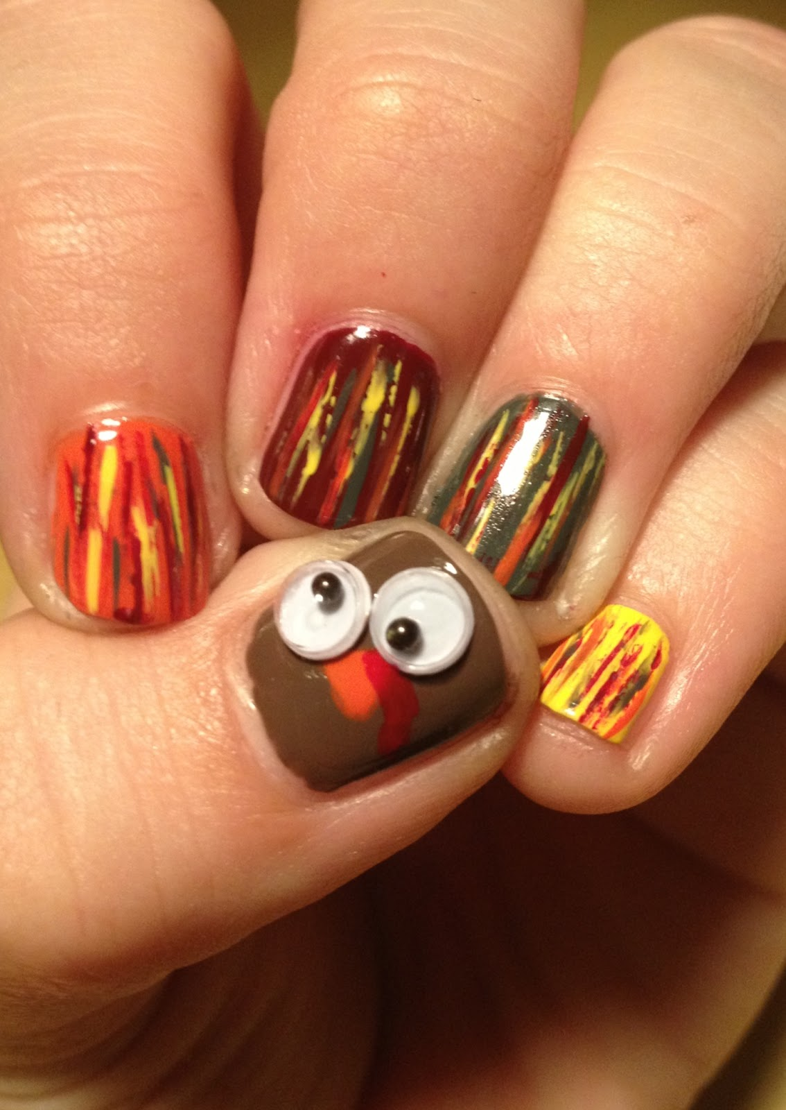 November Nail Art Challenge 2013: Miscellaneous Manicures: November 2012