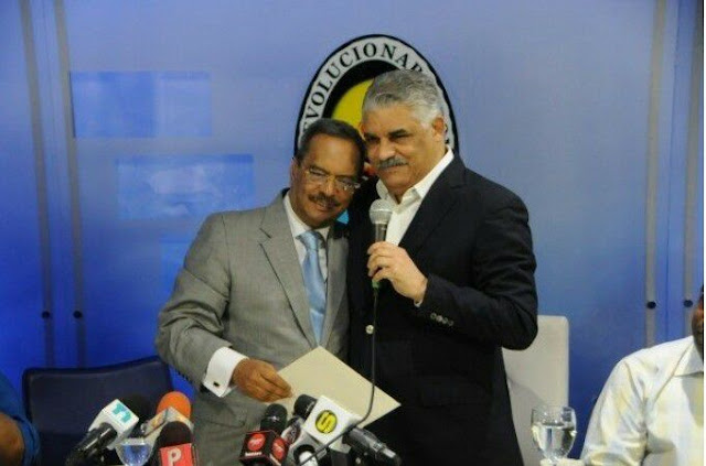 El presidente del PRD Miguel Vargas revela quitará a César Mella
