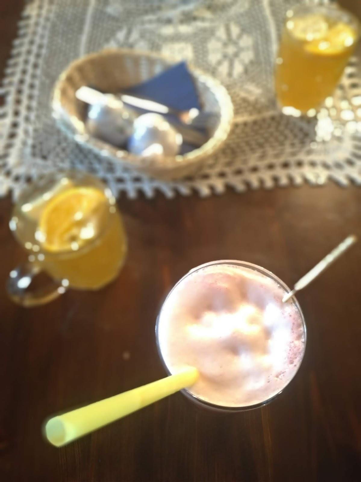 restauracja Checz na Helu, piwo z wiśniami, grzaniec pszeniczny z cytrusami