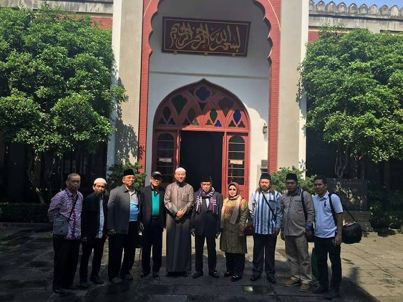 Hari ini KH.Said Aqil Berkunjung Ke Masjid Zhenjiao di Hangzhou China