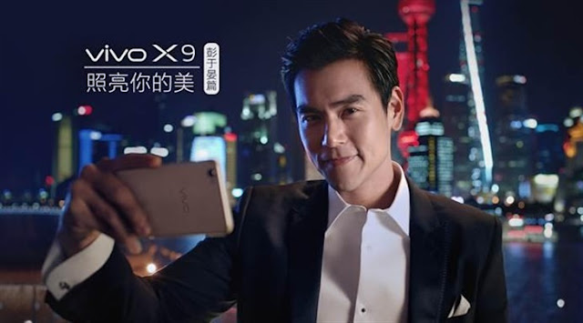 Eddie Peng Vivo X9