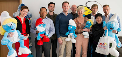 Smurfs at Movie Animation Park Studios