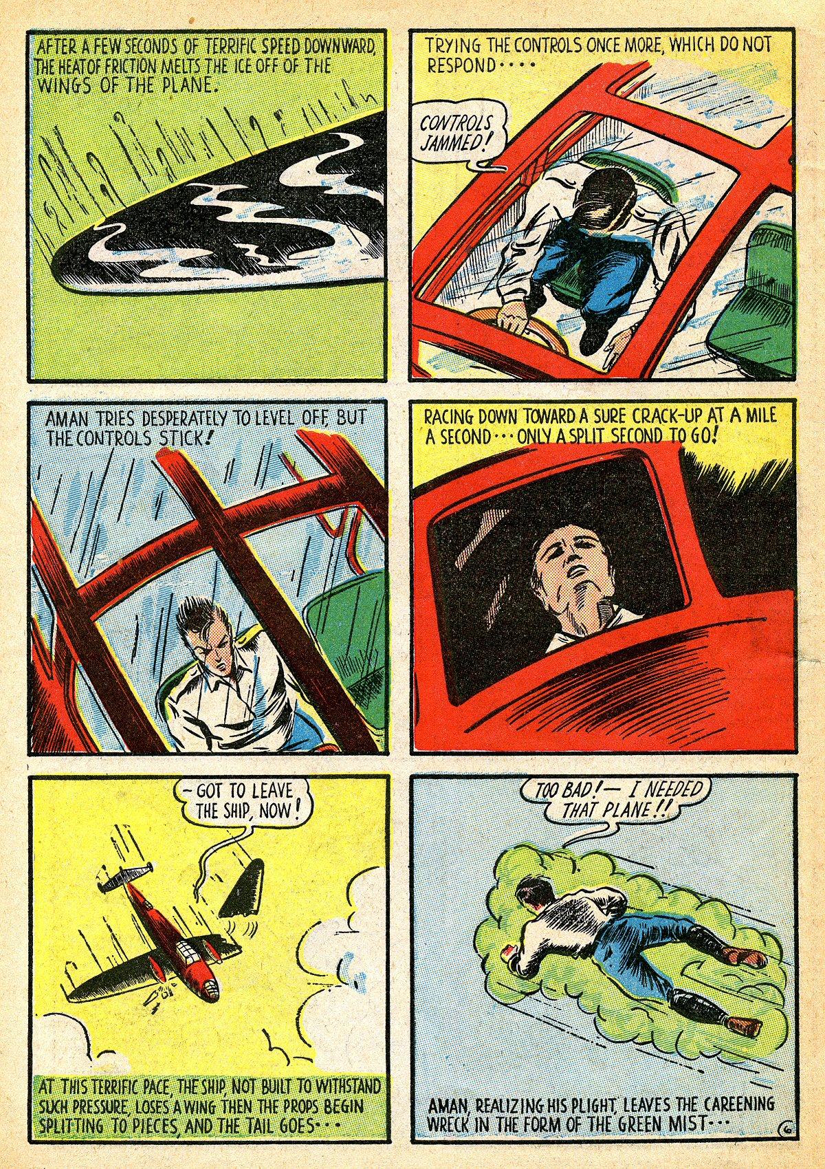 Read online Amazing Man Comics comic -  Issue #10 - 9