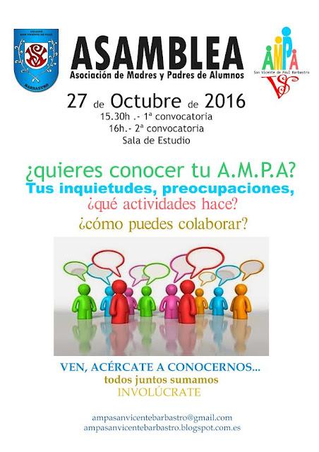 http://ampasanvicentebarbastro.blogspot.es/2016/10/asamblea-ampa-san-vicente-27-octubre.html