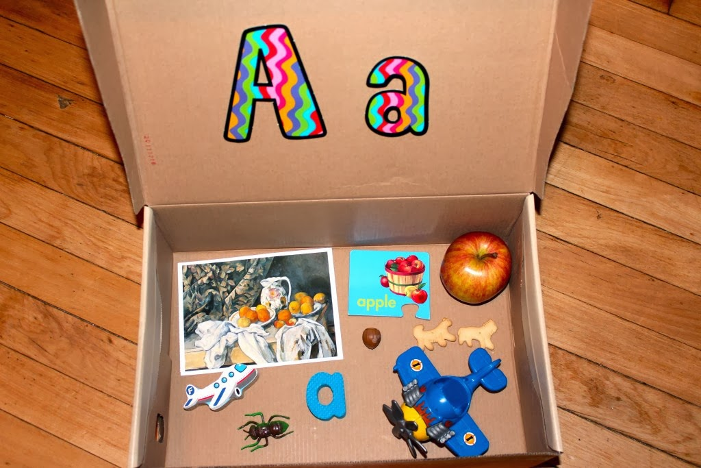 It's just a photo of Handy Box Letter a