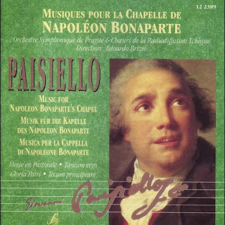 Giovanni Paisiello - Musiques pour le chapelle de Napoleon Bonaparte