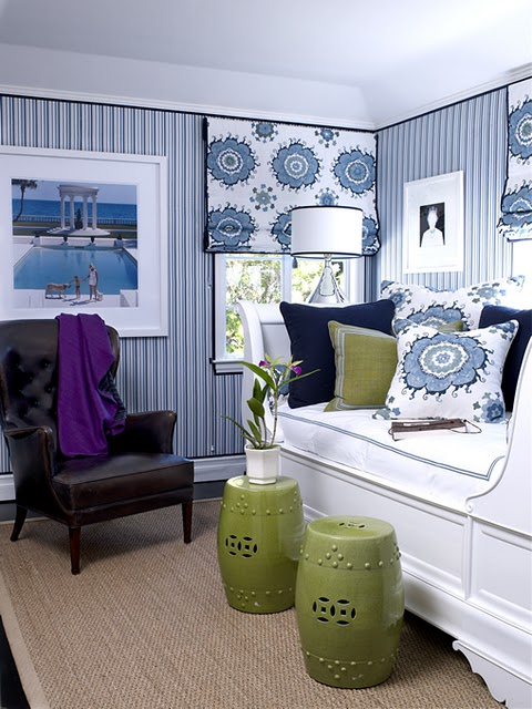 The Enchanted Home: 35 reasons why I love decorating with blue and ...