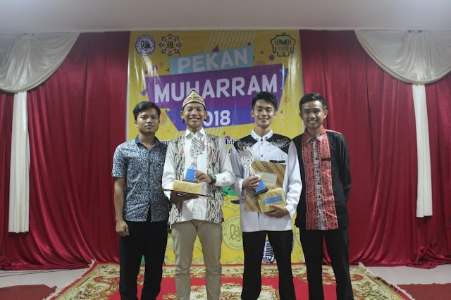 Mahasiswa MPI Juara I dan II Pada Kegiatan Pekan Muharram 2018
