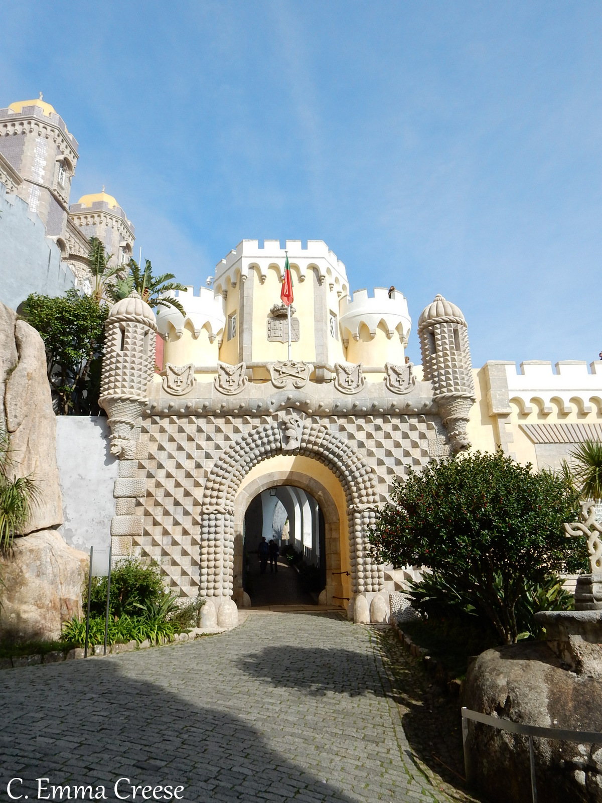 Pena Palace Sintra Potugal UNESCO