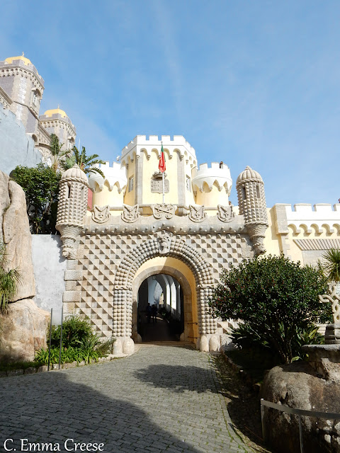 Pena Palace Sintra Potugal UNESCO