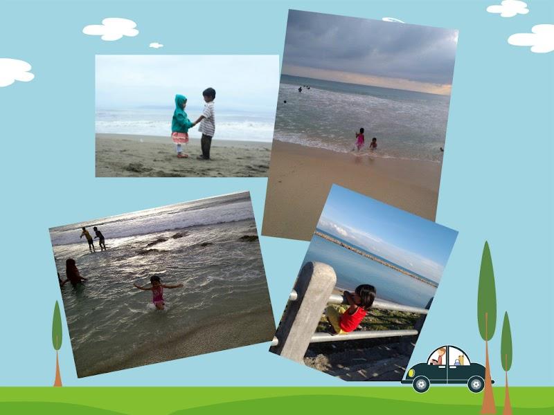 Keluargaku dan Pantai