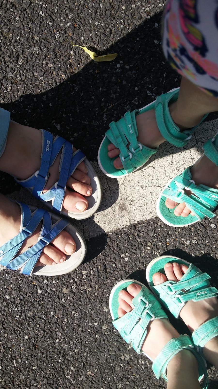 903087f1656937 Currently on our fourth day of the school holidays and our Teva sandals  have not left our feet  well except when we are in the house .