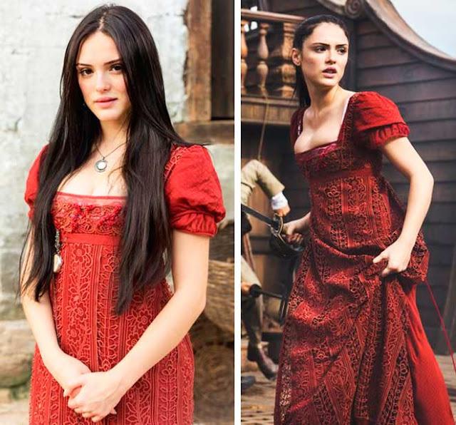 Vestido Ana (Isabelle Drummond) Novo Mundo