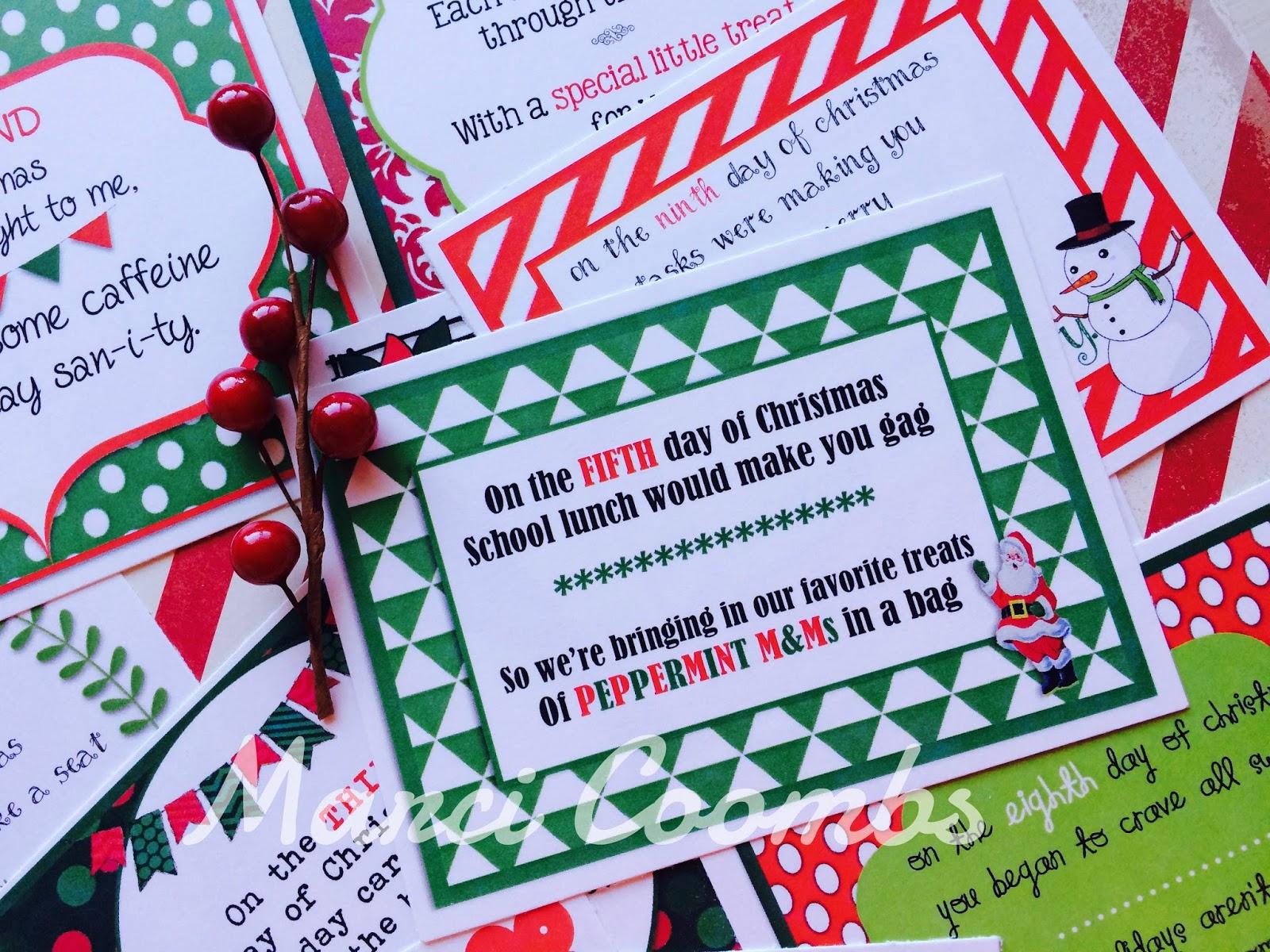 12 Days Of Christmas For Neighbors