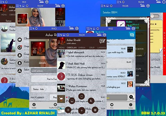 Download BBM Mod Path Style Android Terbaru