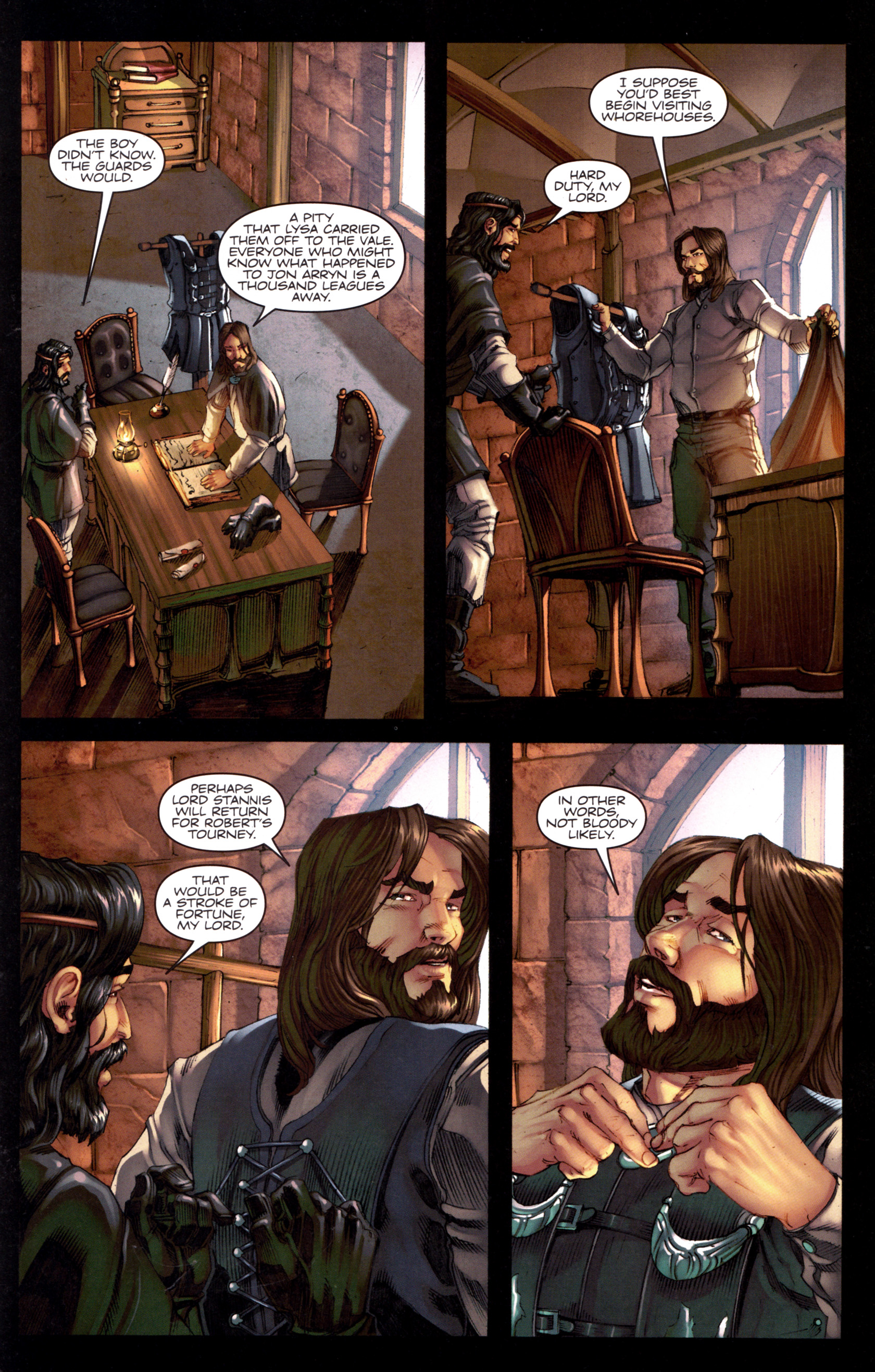 Read online A Game Of Thrones comic -  Issue #8 - 27