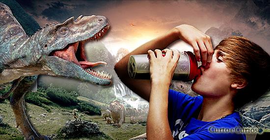 Você está bebendo xixi de dinossauros todos os dias e nem desconfiava