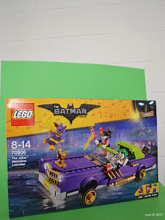 the lego batman movie - the joker notorious lowrider - awkward box and background framing