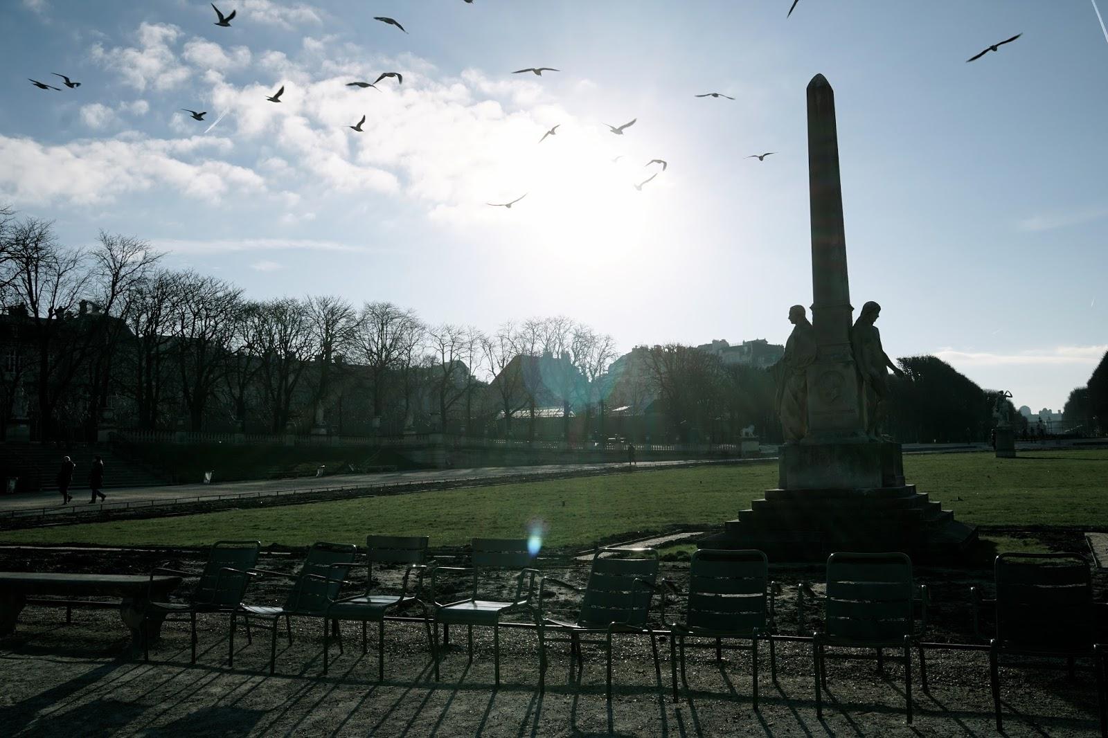 リュクサンブール公園(Jardin du Luxembourg)とリュクサンブール宮殿(Palais du Luxembourg)