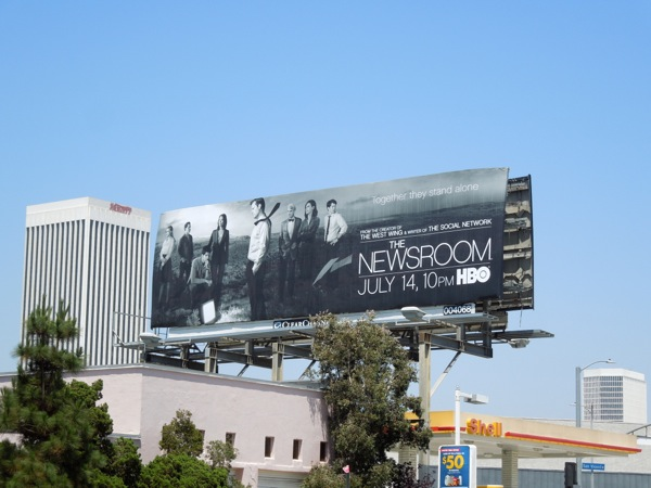 Newsroom 2 hbo billboard