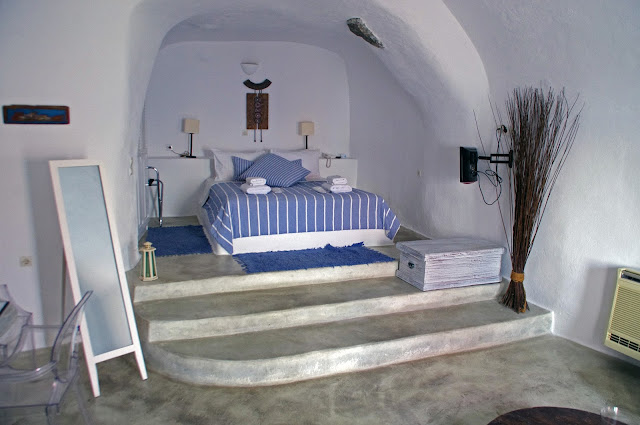 Cave Room at Nostos Apartments Oia Santorini