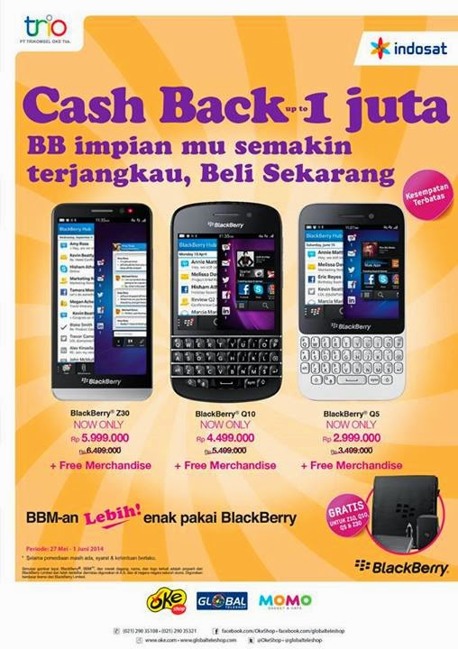 Promo BlackBerry 10 Sampai Juni 2014