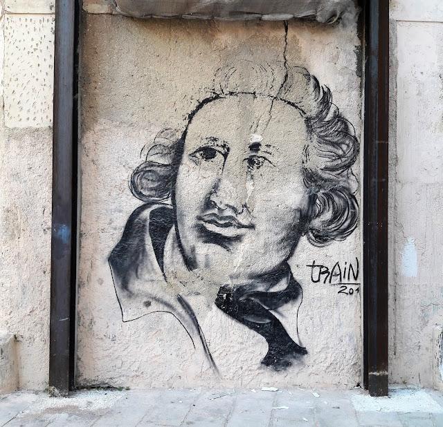 disegno su muro