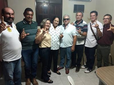 Grupo dos ex-prefeitos reafirmaram apoio hoje, 16, a Fátima Bezerra