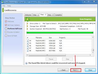 Cara Mengembalikan Data File MMC Memori Card HP Mudah dan Cepat