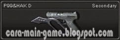 Senjata Point Blank P99&HAK D