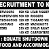 FREE RECRUITMENT TO KUWAIT - EQUATE SHUTDOWN JOB | APPLY NOW