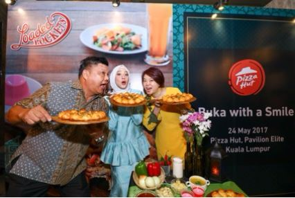 Pizza hut malaysia, menu berbuka puasa, pizza loaded pocket, pizza kombo