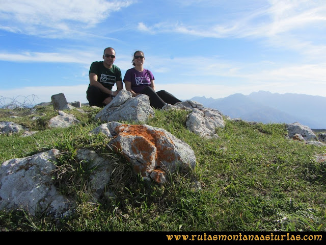 Ruta por el Aramo: Cima del Barriscal