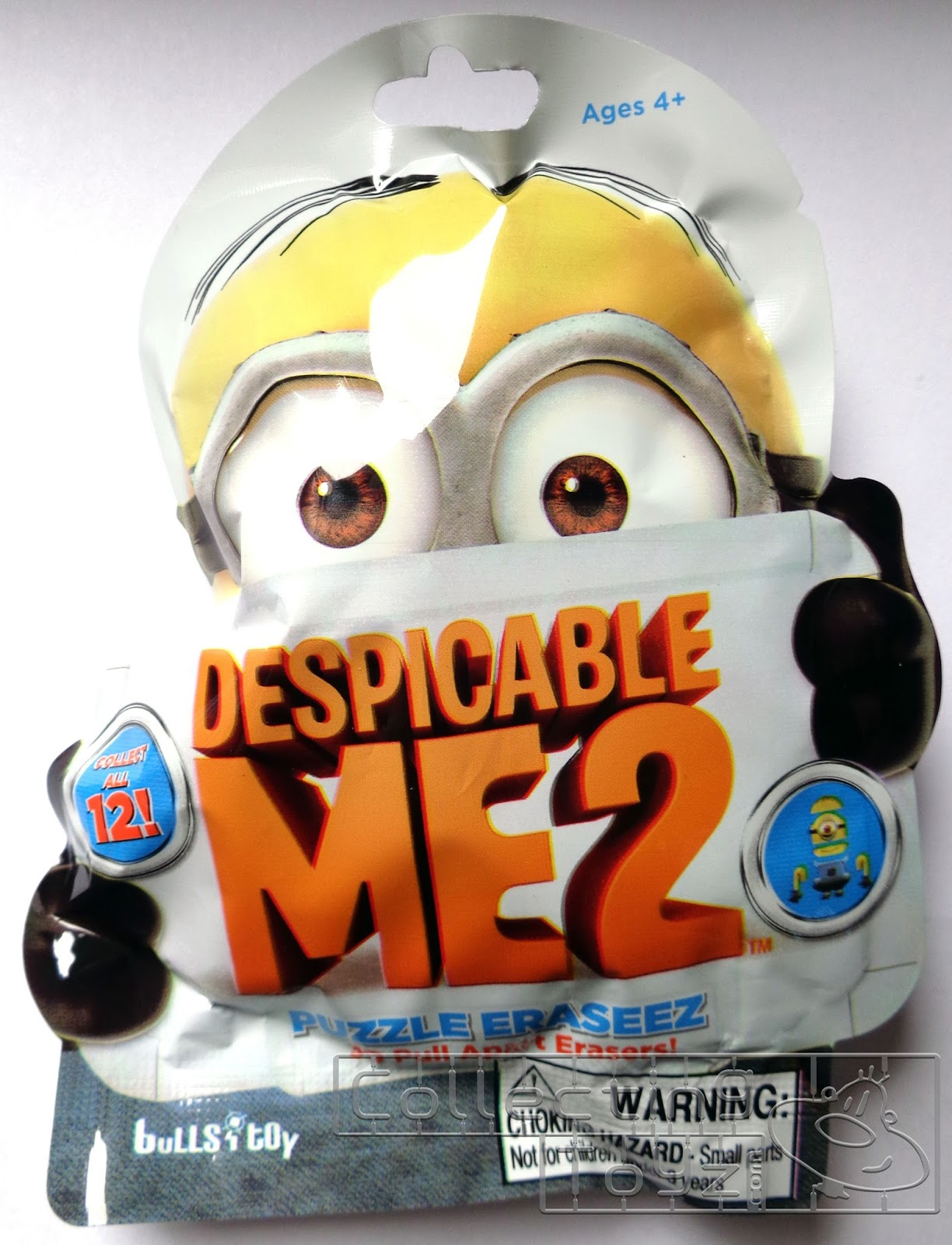 These Are Despicable Me 2 Puzzle Eraseez Or 3D Pull Apart Erasers. There  Are 12 To Collect. They Are Blind Packaged. These Are Made By Bullsitoy  (Bulls I ...