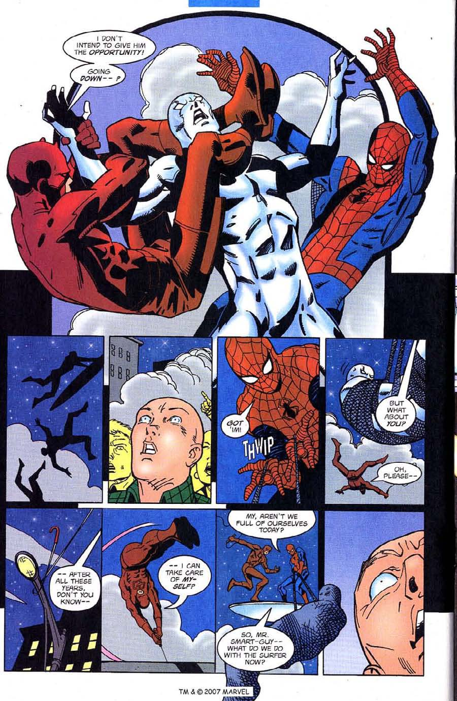 Read online Silver Surfer (1987) comic -  Issue #128 - 24