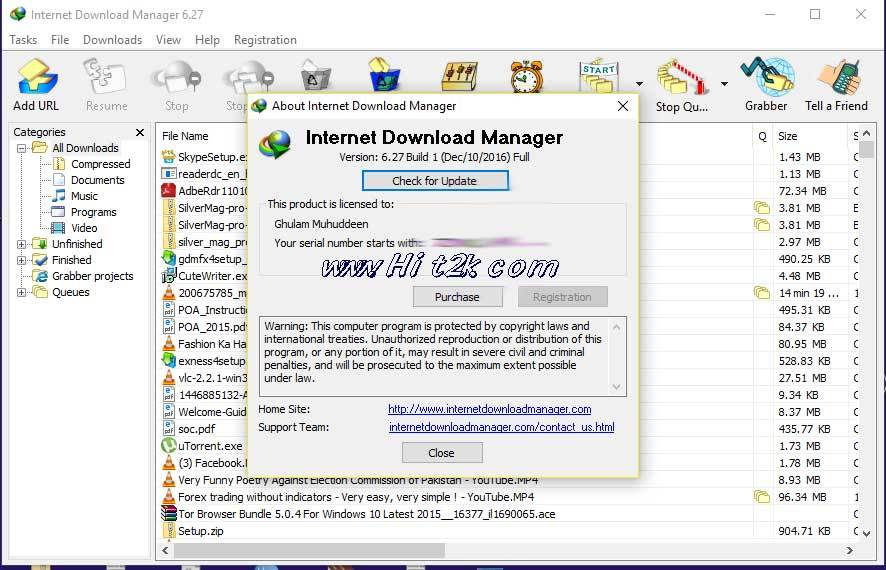 Internet Download Manager 6.27 Build 1 Patch Full Version