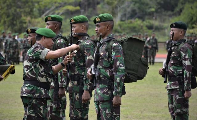 500 Personil TNI Lanjutkan Proyek Jalan Trans Papua di Nduga