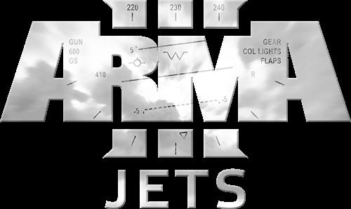 Arma 3 Jets DLC ロゴ