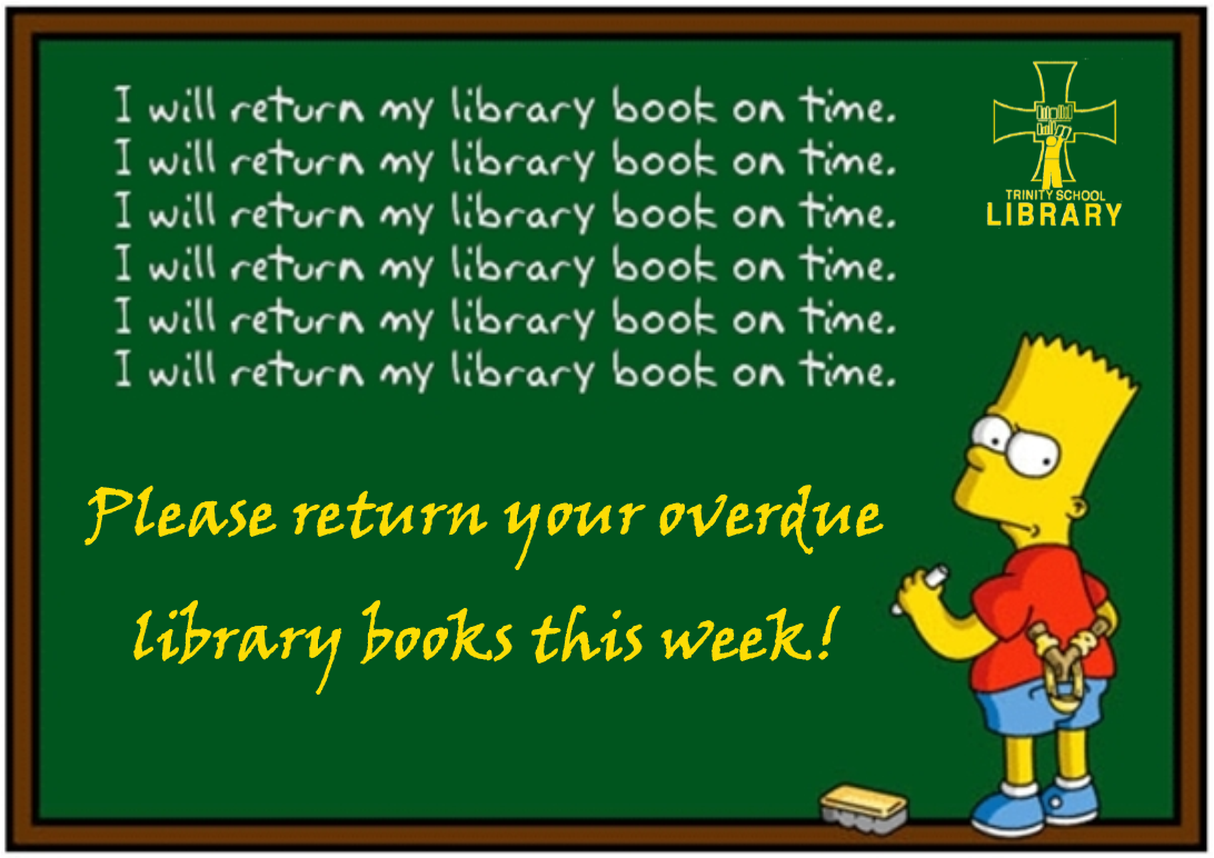 Check the fine print: Library item could be late