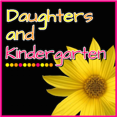 grab button for Daughters and Kindergarten