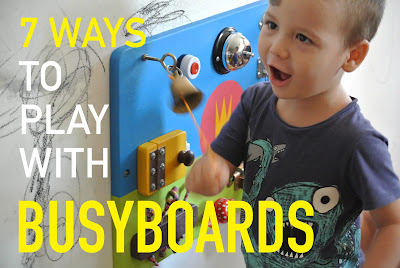how to use a sensory board