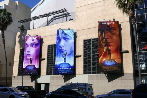Ready Player One film billboards