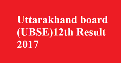 UBSE board 12th Result 2017