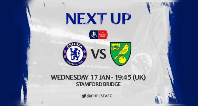 live streaming chelsea vs norwich 18 januari 2018