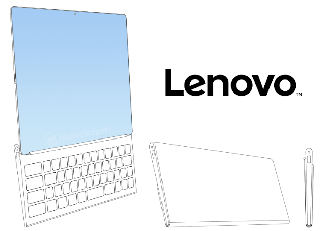 Lenovo's laptop with folding screen