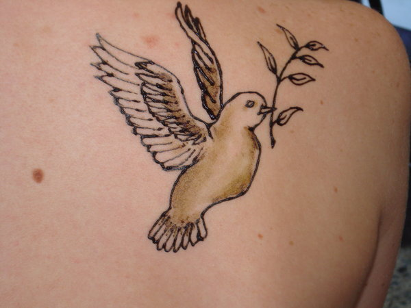 Two Turtle Doves Tattoo