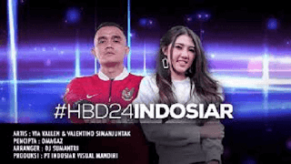 Lirik Lagu Happy Birthday Indosiar - Via Vallen & Valentino Simanjuntak