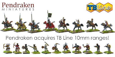 Pendraken Miniatures Acquires TB Line 10mm Ranges