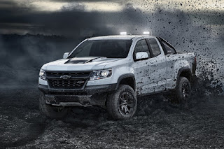 Chevrolet Colorado ZR2 Dusk Edition Extended Cab (2018 North American Spec) Front Side